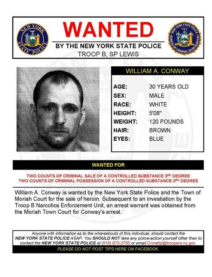 William A. Conway, 30. (State Police)