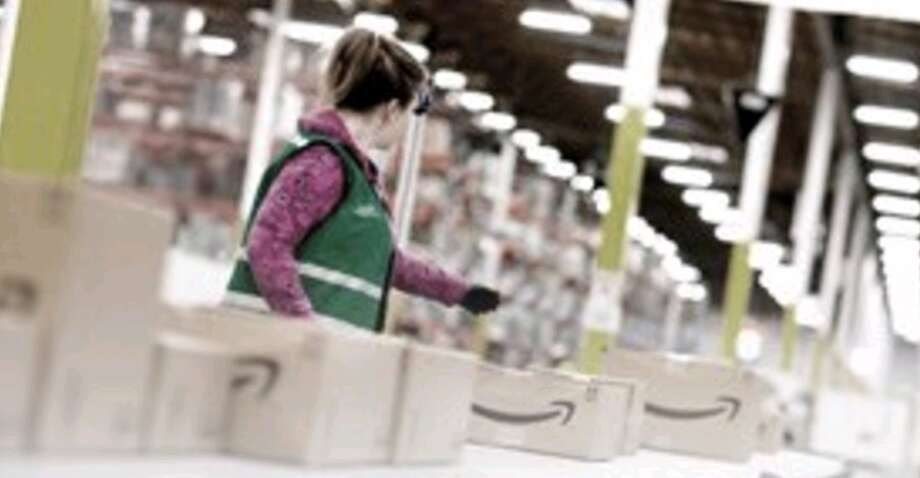 Amazon has created 120,000 seasonal positions this year at facilities across the nation including the Houston area facility in Humble. Photo: Courtesy Of Amazon