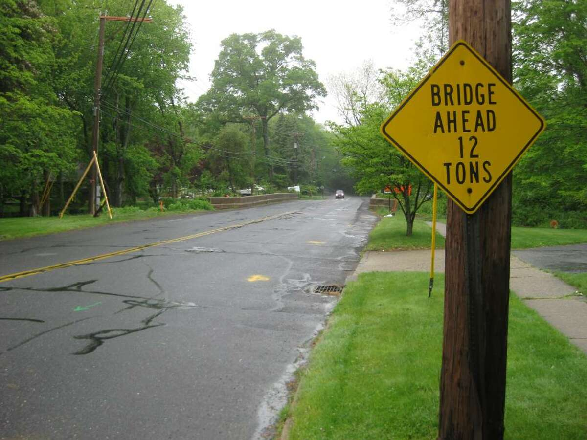 The Mill River bridge on Mill Plain Road, near Brookside Drive and Burr Street, will close Monday for 15 months of reconstruction.