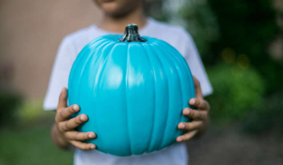 Thousands of houses around the nation are expected to participate in the Teal Pumpkin Project, a movement that gives out non-food treats during Halloween for children with food allergies.Click through to see more pictures of teal pumpkins. Photo: Teal Pumpkin Project