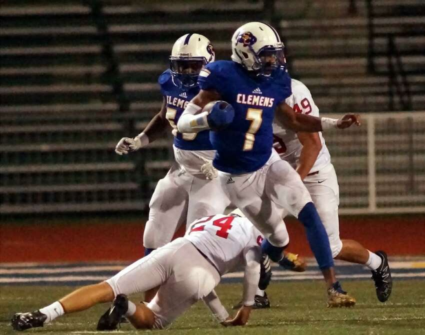 Friday, Oct. 13 Clemens (6-0) 28 at New Braunfels Canyon (1-5) 7