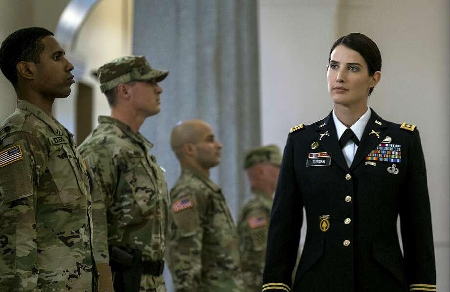 Cobie Smulders as Maj. Susan Turner. Photo: David James, Associated Press