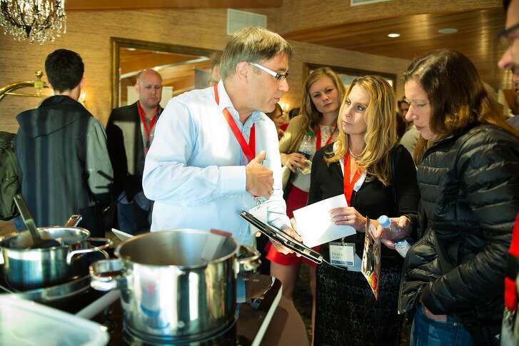Attendees of the Smart Kitchen Summit in Seattle explore what the kitchen of tomorrow will look like.