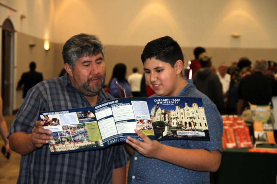 Humble ISD students and parents attended College Night with over 120 colleges, technical trade schools and U.S. military reps. Photo: Submitted
