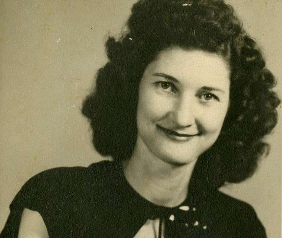 My mother, Mary Calvert, ca. 1940. Photo: Courtesy Mike Snyder