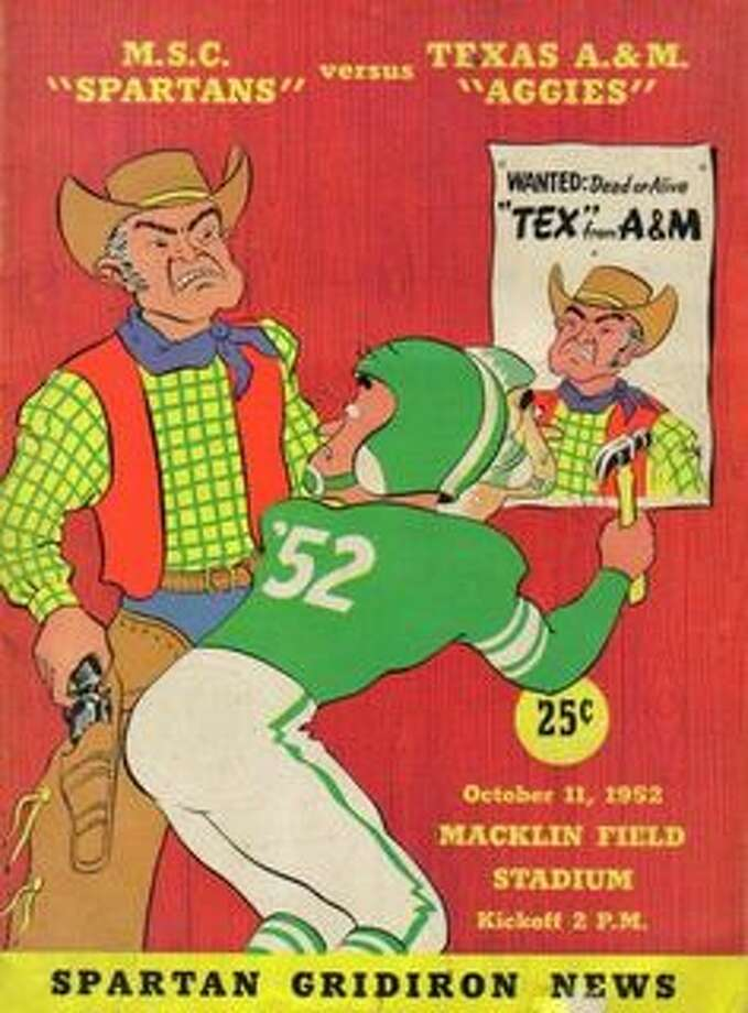 Oct. 11, 1952: No. 1 Michigan State defeats Aggies, 48-6All-time record vs. AP No. 1: 0-1 Photo: Pinterest