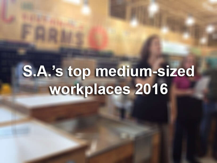Click through the slideshow to see the top 20 midsize businesses in San Antonio, according to the Top Workplaces survey. Photo: Jessica Elizarraras/San Antonio Express-News