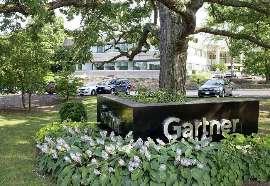 Gartner's building, on Top Gallant Road in Stamford, Conn. Photo: Lindsay Perry / Lindsay Perry / Stamford Advocate