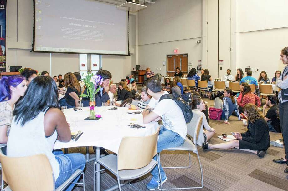 A past Hunger Banquet at Lone Star College-Kingwood. Photo: LSC-K