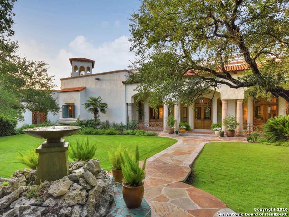Keep clicking to view 10 homes for sale in San Antonio's luxury real estate market.1.1726 Greystone Ridge: $3.5 million5 beds / 4.5 baths / 9,148 square feet Photo: Courtesy, Binkan Cinaroglu Via MySA.com