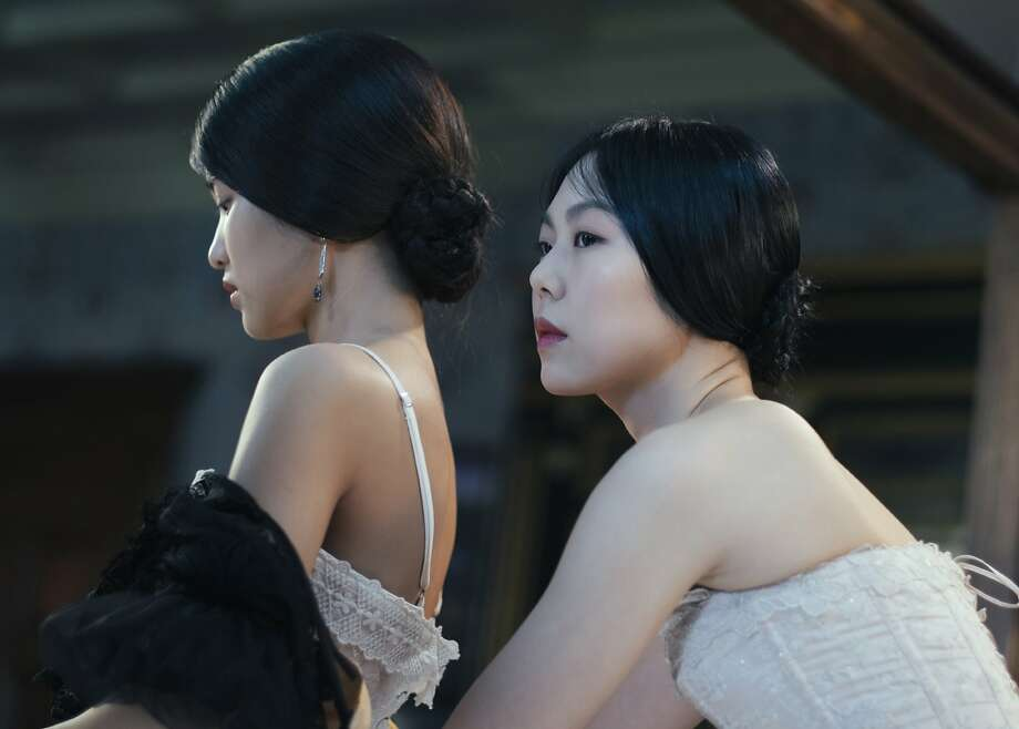 """Park Chan-wook's erotic thriller """"The Handmaiden"""" (with Kim Tae-ri and Kim Min-hee) is stylish, memorable and not eligible for the Oscar for best foreign language film. Photo courtesy Amazon Studios/Magnolia Pictures. Photo: Amazon Studios / Magnolia Pictures"""