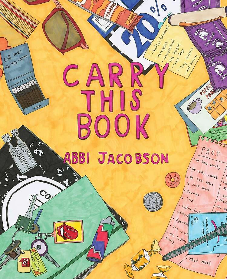 """Abbi Jacobson, one half of the Comedy Central series """"Broad City,"""" is scheduled to appear in conversation with Carrie Brownstein (Sleater-Kinney, """"Portlandia"""") on Saturday, Oct 29, at the Nourse Theater for her new book, """"Carry This Book."""" Photo: Courtesy"""