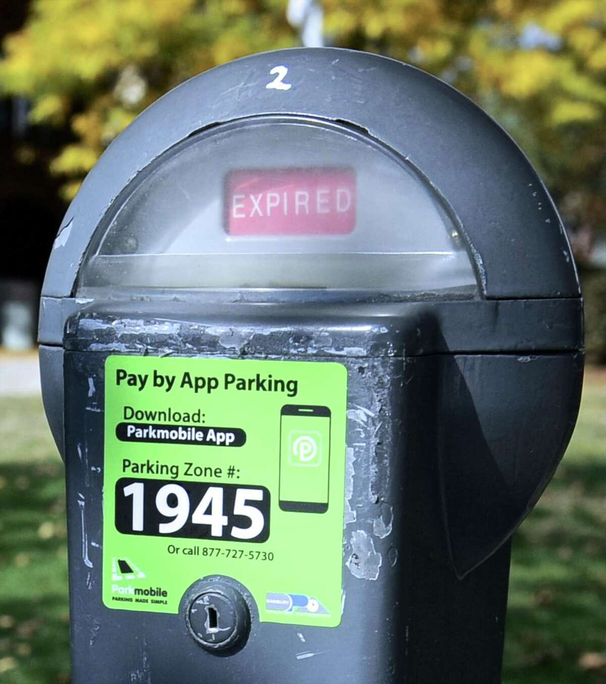 The Danbury Parking Authority has announced mobile payments for downtown parking through the ParkMobil App for Android , Windows and iPhone smartphones. Wednesday, October 19, 2016, in Danbury, Conn.