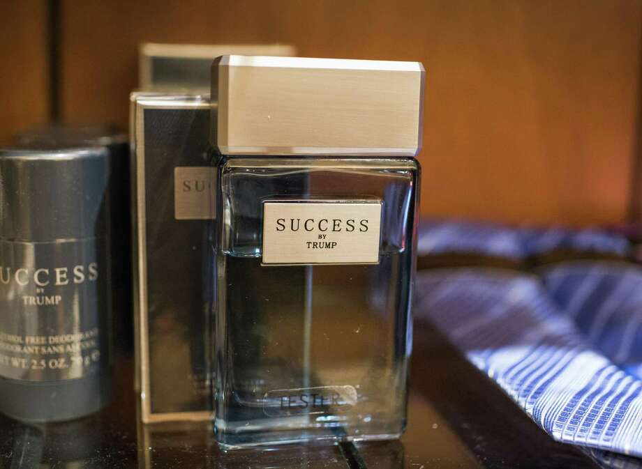 """Whether you consider yourself part of the resistance, are yearning to """"Make America Great Again"""" or are somewhere in the middle, there's likely an app for you. The Boycott Trump app compiles a list of businesses that have ties to the president and helps users contact them through email, Twitter or a phone call. Shown is Success by Trump men's fragrance at the Trump Store in Trump Tower. Photo: Joshua Bright /New York Times / NYTNS"""