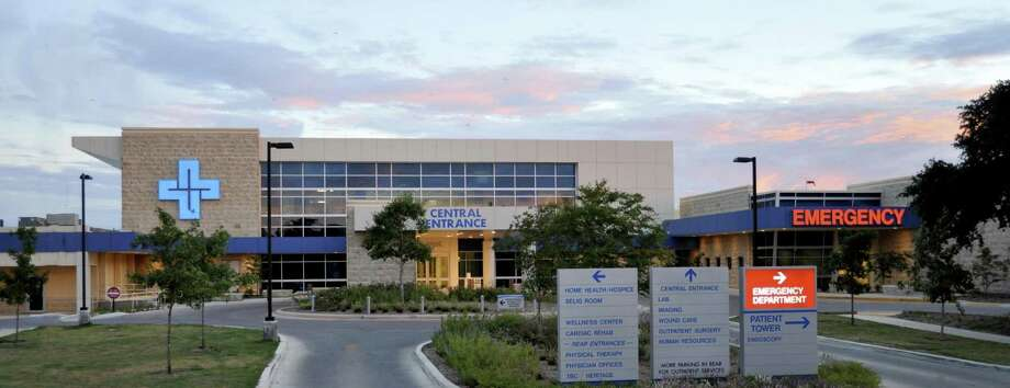 The central entrance at the Guadalupe Regional Medical Center, part of the additional space built in a major expansion that ended in 2010. The hospital is about to embark on additional upgrades. Photo: Courtesy Photo /Guadalupe Regional Medical Center