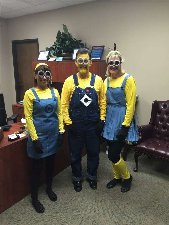 """HealthTexas Medical Group employees enjoy a Halloween celebration. """"I believe that this company has my best interests at heart,"""" one employee says. """"Lastly, we are always having fun."""" Photo: Courtesy Photo"""