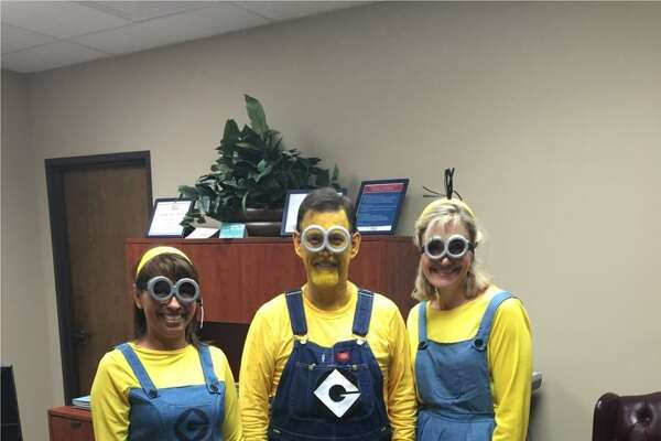 "HealthTexas Medical Group employees enjoy a Halloween celebration. ""I believe that this company has my best interests at heart,"" one employee says. ""Lastly, we are always having fun."""