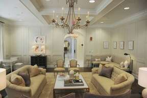 Formal living room. The new $13 million Phi Mu sorority house at the University of Alabama is the latest addition to the Alabama building boom within the area.