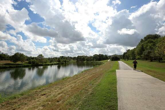 A proposed $5.9 million bike and pedestrian bridge in East Houston's Mason Park will allow visitors to safely cross Brays Bayou and better access trails.