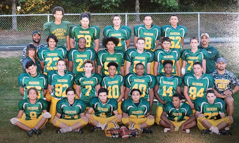 The Norwalk Packers U-13 football team will head into the postseason next week with a road contest at the Springfield Tigers. Photo: John Nash / Hearst Connecticut Media / Norwalk Hour
