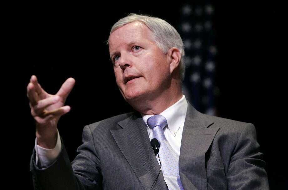 Former Rep. Tom Campbell, seen in 2009, made the Libertarian candidate's high court short list. Photo: Paul Sakuma, AP