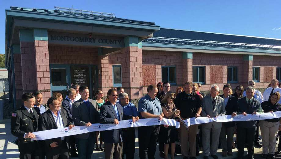 Montgomery County leaders officially opened the expansion wing at the public safety building outside Fultonville Wednesday, Oct. 19, 2016. (Submitted photo)