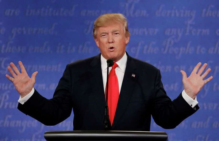 GOP presidential candidate Donald Trump, who's lagging in the polls, have repeatedly warned about a rigged election. Keep clicking to see other Trump conspiracy theories. Photo: David Goldman, Associated Press / Copyright 2016 The Associated Press. All rights reserved.