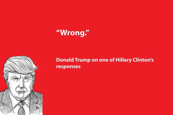 Zingers and one-liners from the Oct. 19, 2016 U.S. presidential debate.