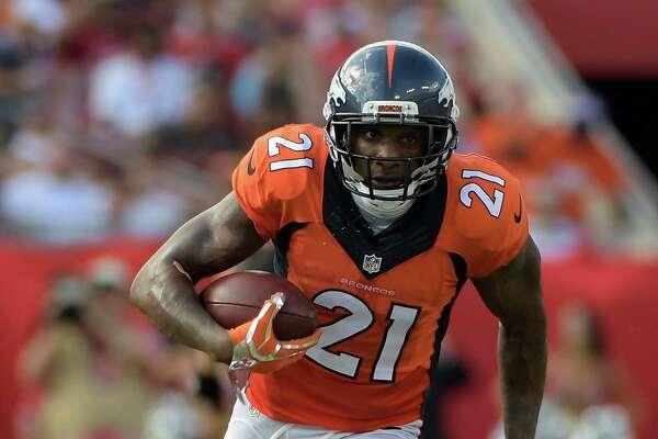 Broncos cornerback Aqib Talib has returned nine interceptions for touchdowns in his career.