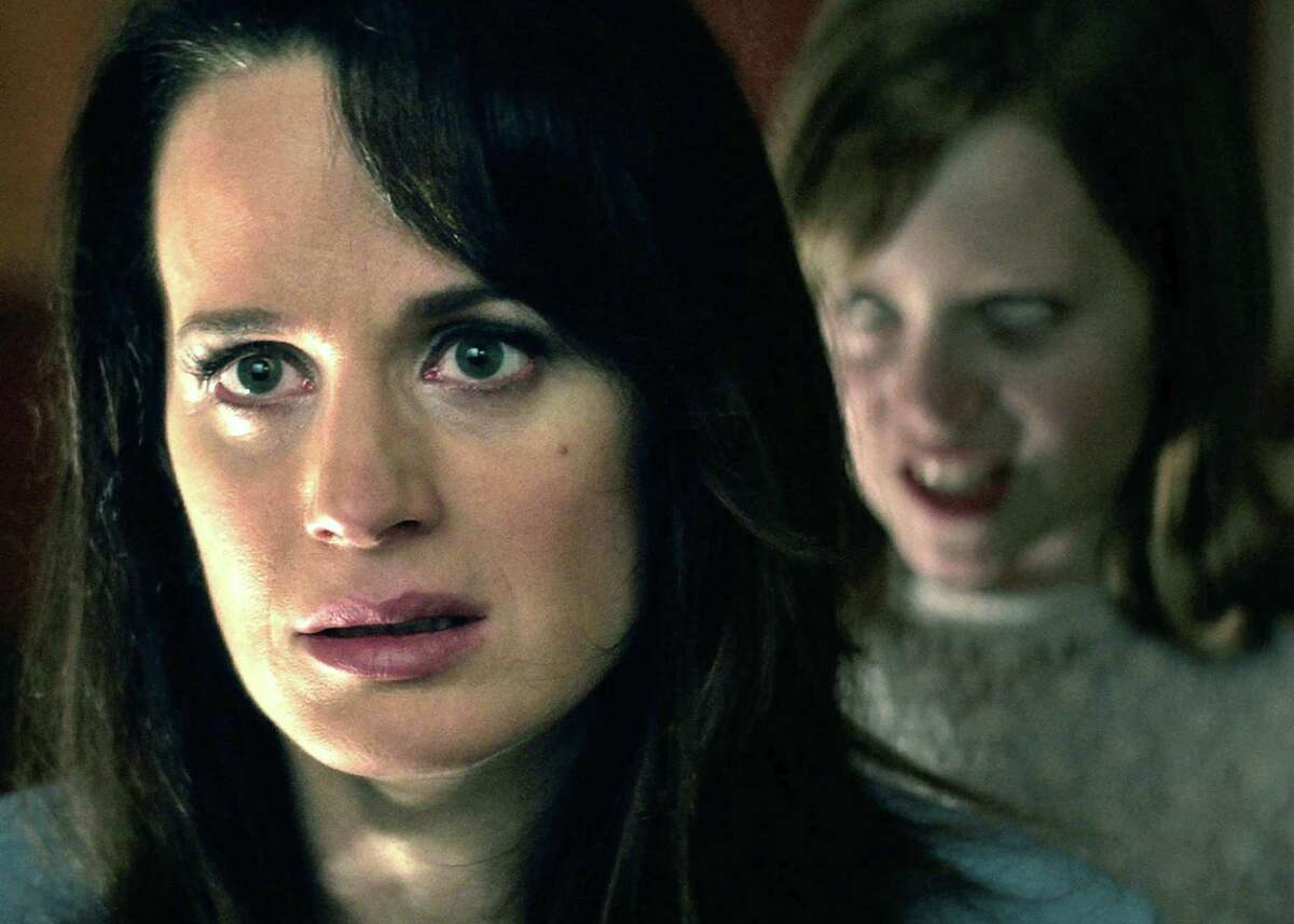 """Mom Alice (Elizabeth Reaser) probably wouldn't like the answer weirdo daughter Doris (Lulu Wilson) would provide in """"Ouija: Origin of Evil."""" The well-written and -acted sequel to the high-grossing and widely despised 2014 """"Ouija"""" is fun, if not terrifying."""
