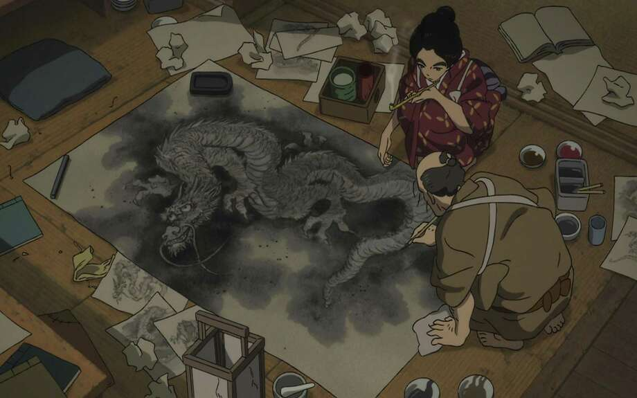 """A scene from """"Miss Hokusai."""" (Oriental Light and Magic) Photo: Handout, HO / TNS / Los Angeles Times"""