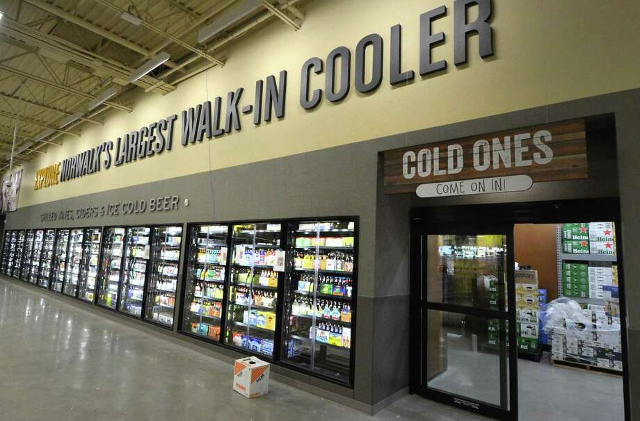 The new LQR MKT store at 360 Connecticut Ave. in Norwalk, Conn. as the store gets ready to open Oct. 20, 2016 with over 4000 wines, 2000 spirits, 1000 beers — and the largest walk in cooler in Connecticut. Photo: Alex Von Kleydorff / Hearst Connecticut Media / Connecticut Post
