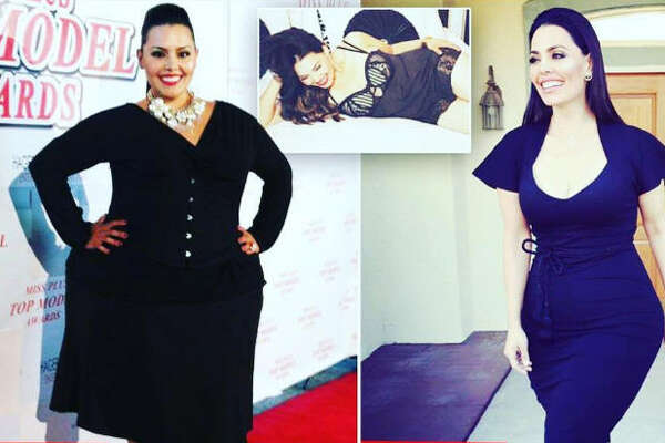 Model Rosie Mercado lost an impressive 240 pounds over the past three years and she told  TMZ  that she received death threats over her transformation. 
