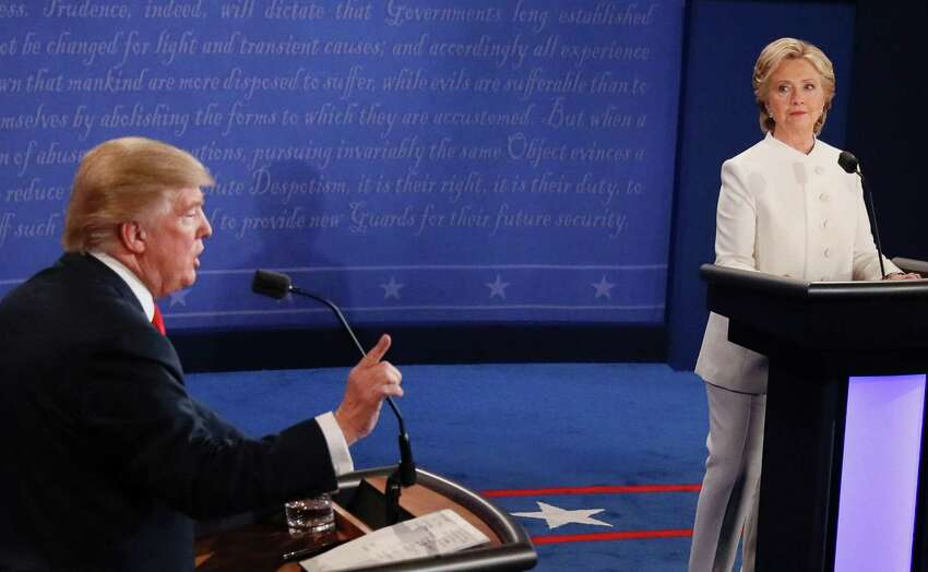 1. Donald Trump promised to send Hillary Clinton to jail.