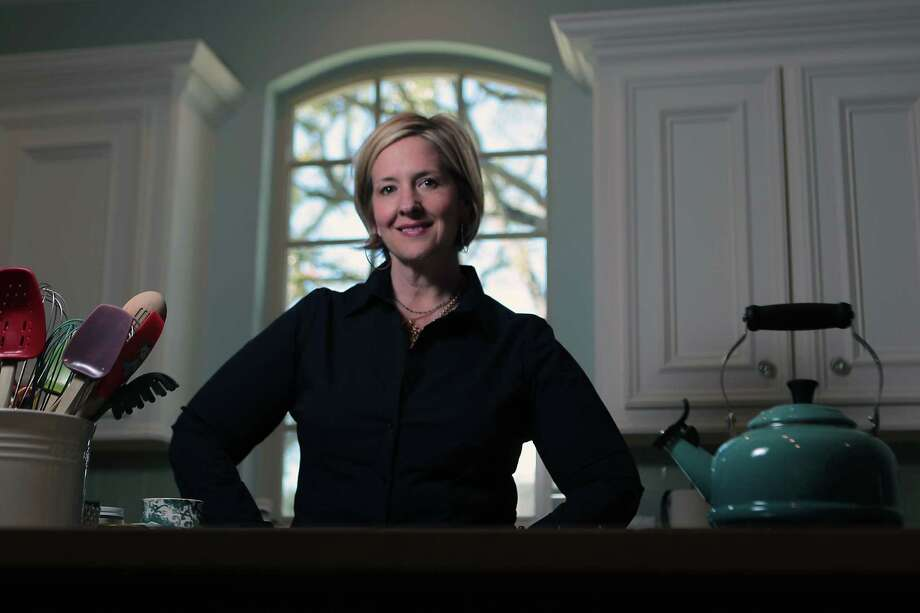 Brene Brown, a research professor at the University of Houston Graduate College of Social Work, writes and lectures on vulnerability, shame and courage. Photo: James Nielsen, Staff / © Houston Chronicle 2013
