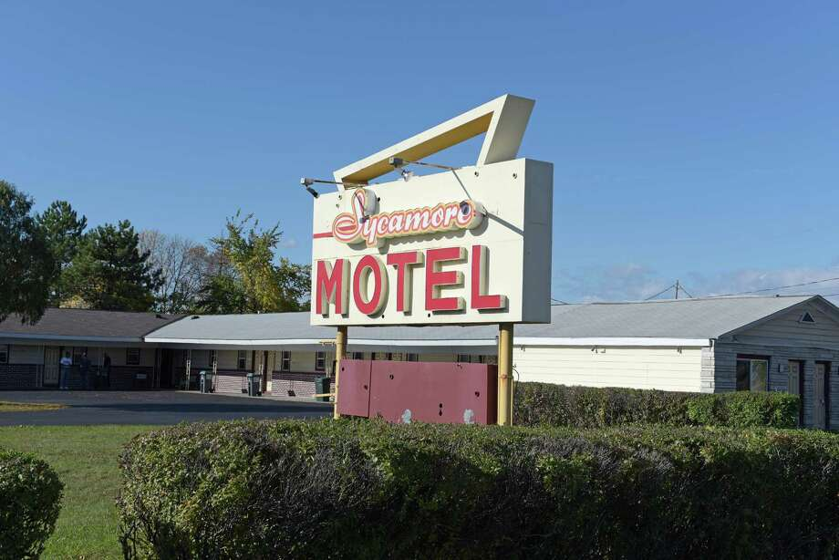 A view of theSycamore Motel on Route 9, seen here on Wednesday, Oct. 19, 2016, in Latham, N.Y.    (Paul Buckowski / Times Union) Photo: PAUL BUCKOWSKI / 20038461A