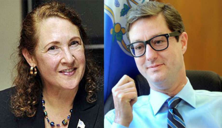 Democrat U.S. Rep. Elizabeth Esty and GOP challenger Clay Cope. Photo: /