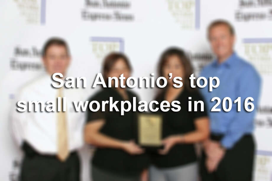Click through the slideshow to see the top 50 small businesses in San Antonio, according to the Top Workplaces survey. Photo: San Antonio Express-News