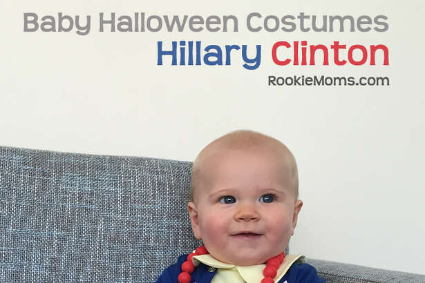 East Bay moms Heather Flett and Whitney Moss created this Hillary Clinton costume idea for babies for their parenting website  Rookie Moms .