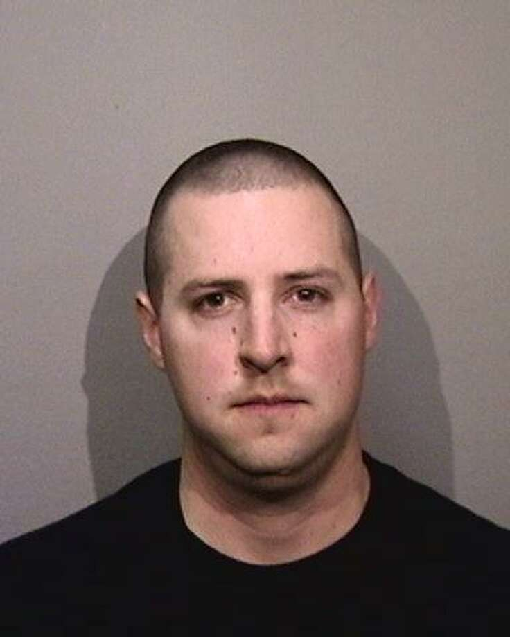 An Oakland police officer Ryan Walterhouse, 26, was arrested late Wednesday on suspicion of engaging in prostitution and obstruction of justice. Photo: Alameda County Sheriff's Office