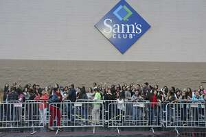 The Sam's Club at 12919 San Pedro Ave. (not pictured) will permanently close Jan. 26, a Walmart spokeswoman says. Employees will be offered open jobs at other stores.