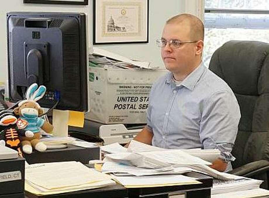 Democratic Registrar of Voters Matthew Waggner Photo: File Photo / File Photo / Fairfield Citizen