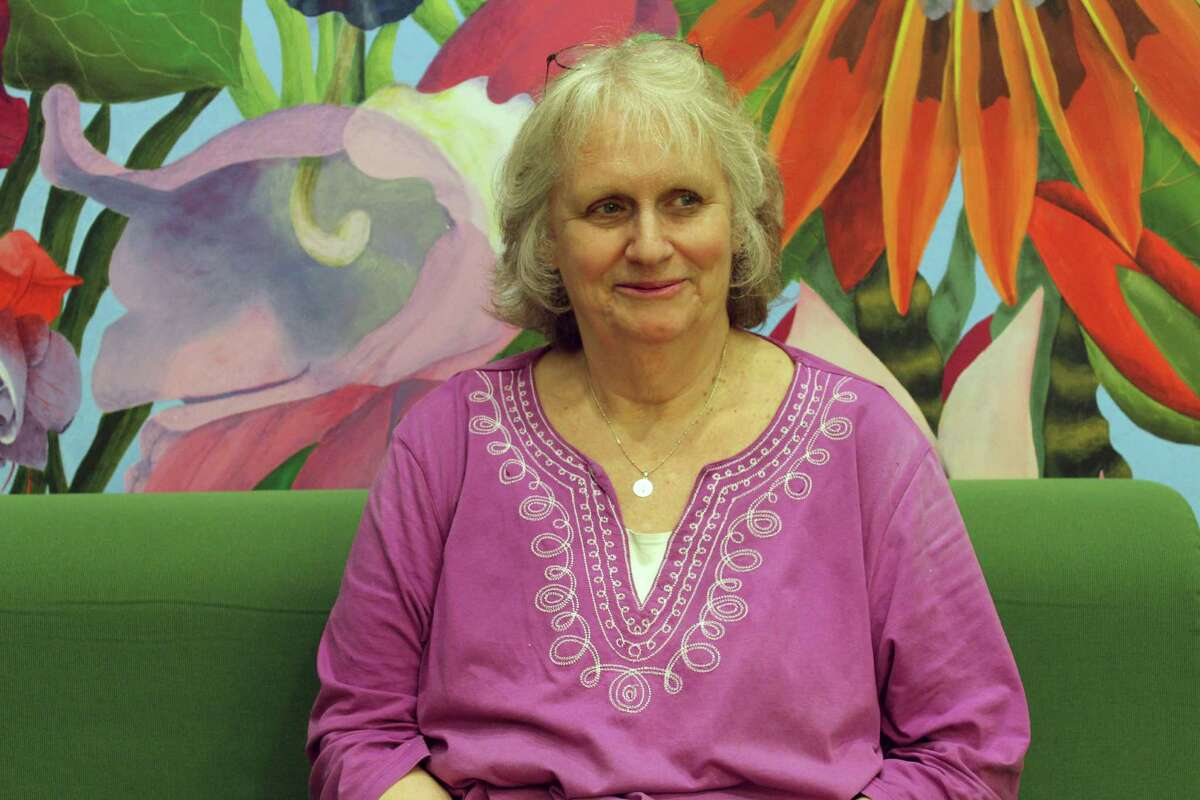 Nina Marino, a two-time breast cancer survivor, holds monthly support group meetings for post-treatment breast cancer survivors at Wilton Library.