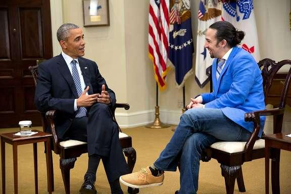 "President Barack Obama and ""Hamilton"" creator and star Lin-Manuel Miranda talk about the legacy of Alexander Hamilton in ""Hamilton's America."""