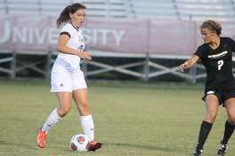 TAMIU's Cio Bargallo finished her freshman season second in the Heartland Conference in shots and seventh in goals after the Dustdevils lost 4-0 Saturday at Dallas Baptist.