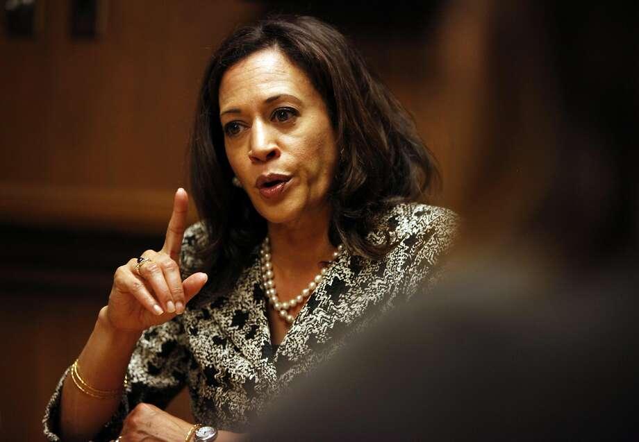 California Attorney General Kamala Harris Photo: Pete Kiehart, The Chronicle
