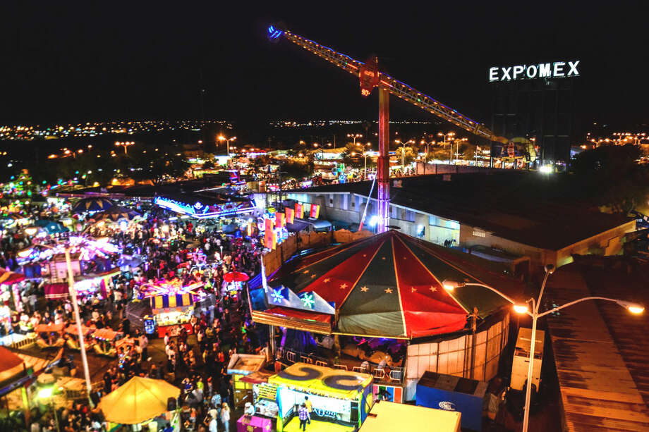 This 2014 file photo shows an aerial view of Expomex. The 2015 Expomex started Friday with a coronation ceremony to officially open the annual state fair in Nuevo Laredo, Mexico.