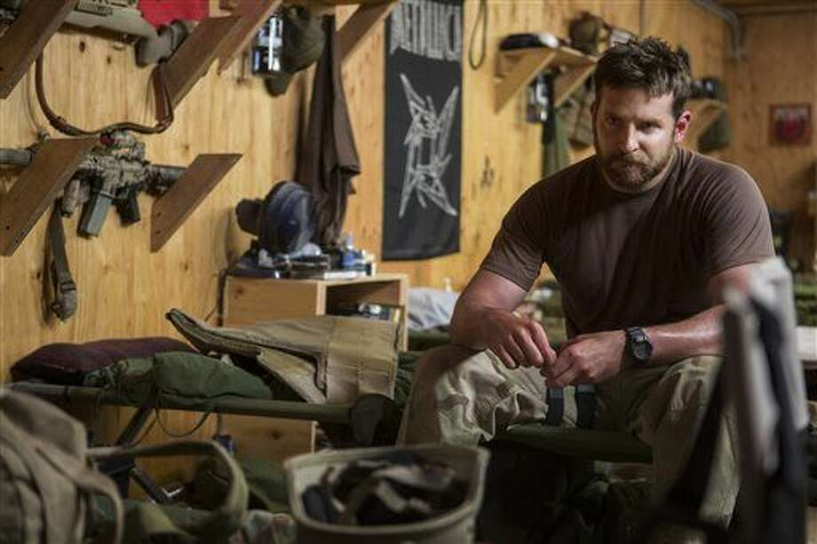"""In this image released by Warner Bros. Pictures, Bradley Cooper appears in a scene from """"American Sniper."""" (AP Photo/Warner Bros. Pictures, Keith Bernstein)"""