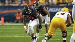 UTSA defensive end Marcus Davenport is the team's top pass rushing threat.