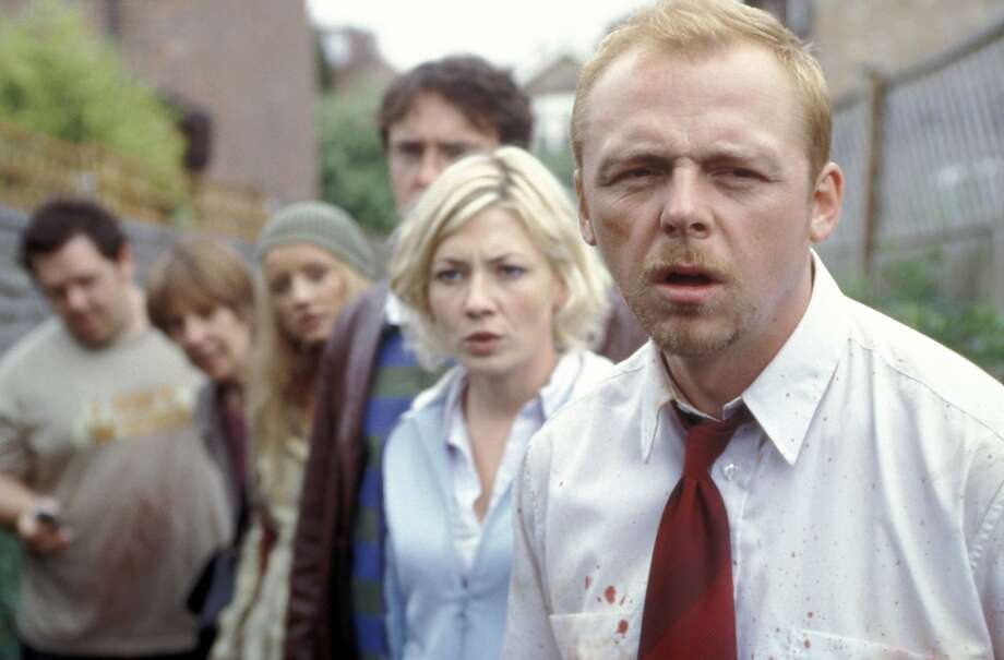 """Zombies invade London in the film """"Shaun of the Dead"""" Photo: ROGUE PICTURES"""